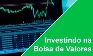 Cuso investindo na Bolsa de valores
